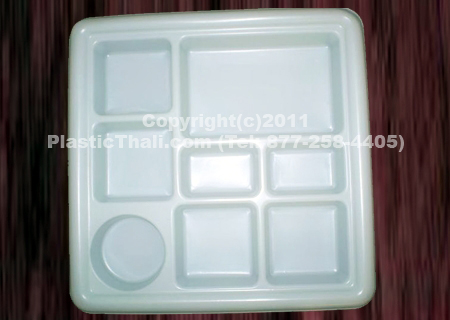 8 Compartment Plates