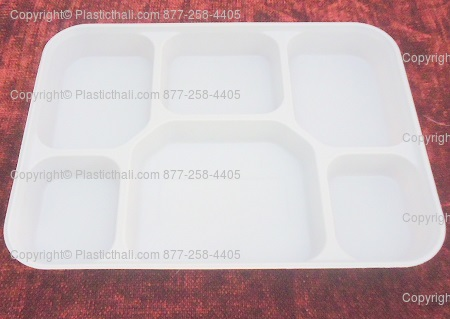 6 Compartment Plates & Six Compartment Disposable Plastic plate