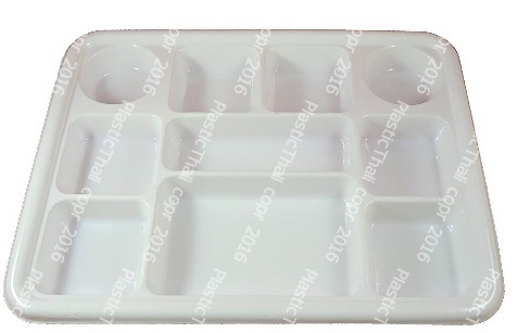 10 Compartment plates